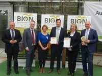 BION receives award as a project of the UN decade of biodiversity