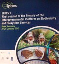 IPBES 1st Plenary Meeting in Bonn