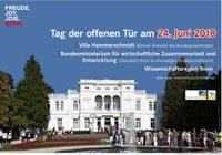 Nees-Institut und Botanische Gärten beim Tag der offenen Tür in der Villa Hammerschmidt